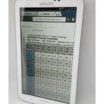 Lathundsboken i en Samsung-läsplatta.